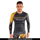 Ground Game Mine is Glory Grappling Rashguard